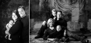 Portrait Style Timeless Fine Art Black and White Family Portrait Cruz Portrait Design