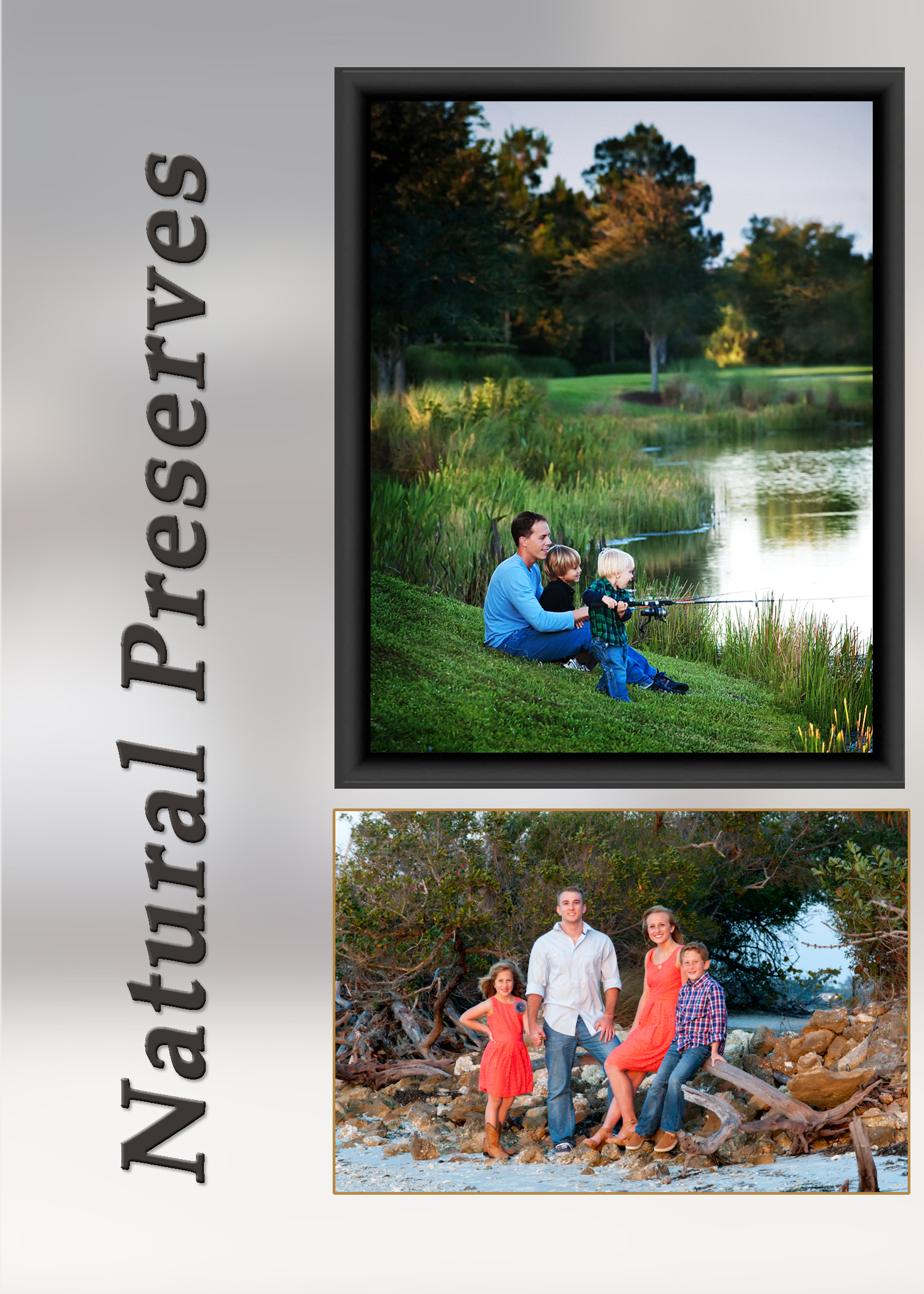 Family Portraits on location, Desoto National Park, Lakewood Ranch